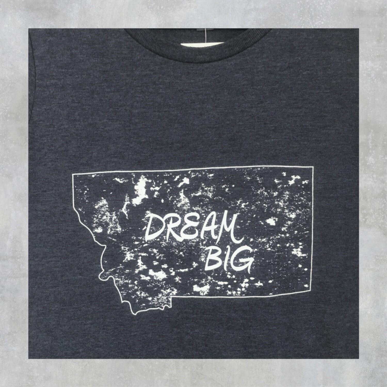 Dream Big Women's Crew Neck Tee