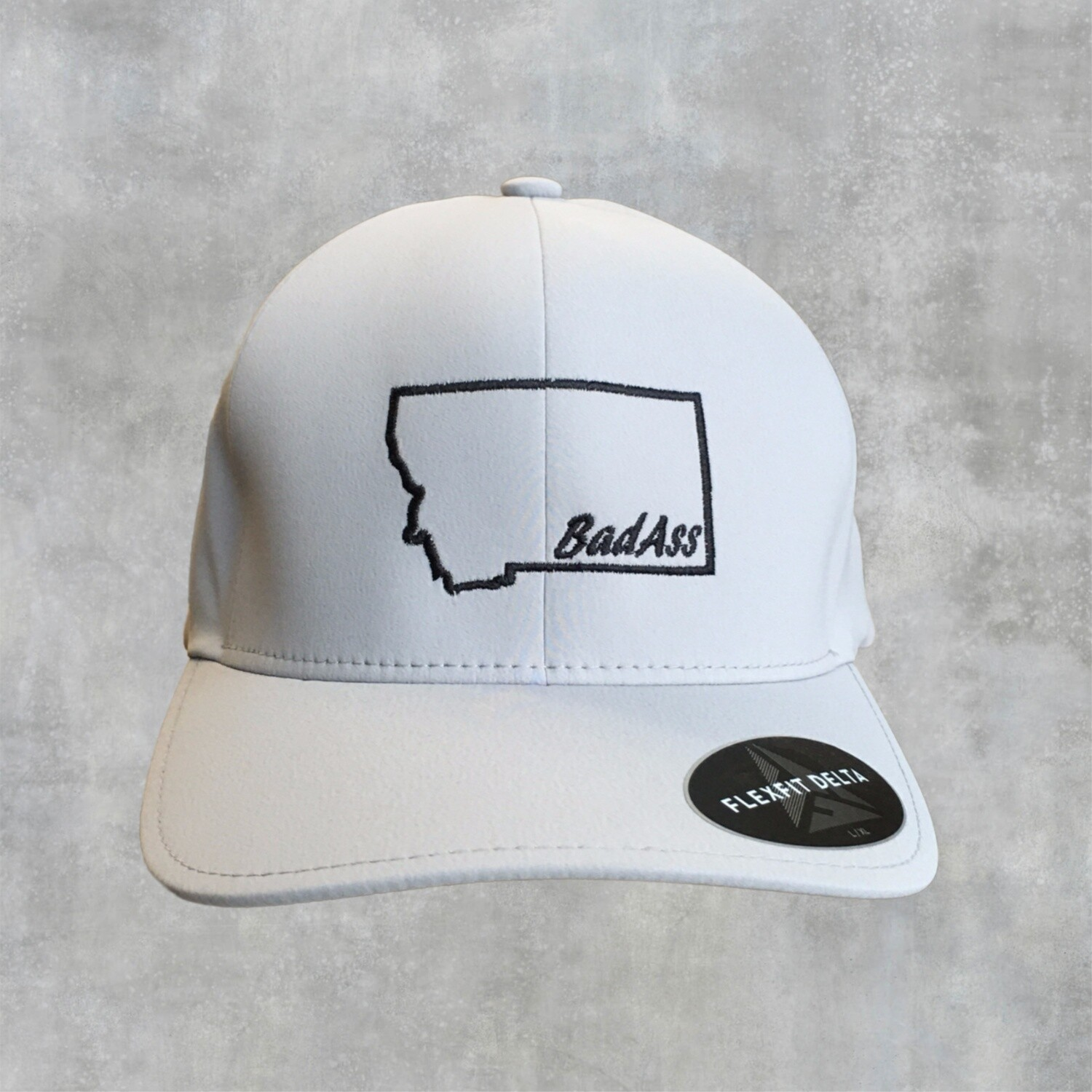 BadAss -Embroidered - Flex Fit Delta Seamless Cap