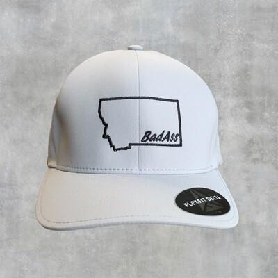 BadAss -Embroidered - Flex Fit Delta Seamless Cap