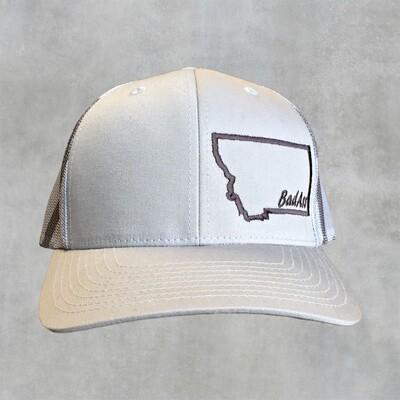 BadAss-Embroidered-Richardson Trucker Cap