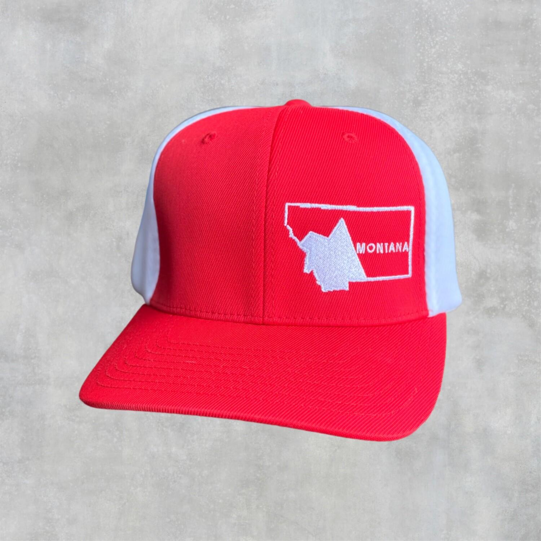 Montana Embroidered Flex Fit Cap
