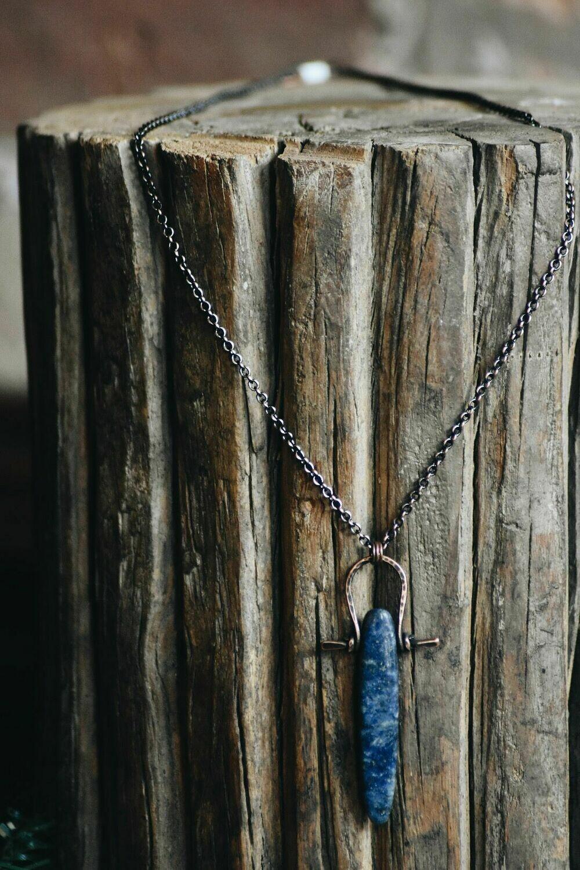 L-5 Lapis Lazuli Warrior Amulet