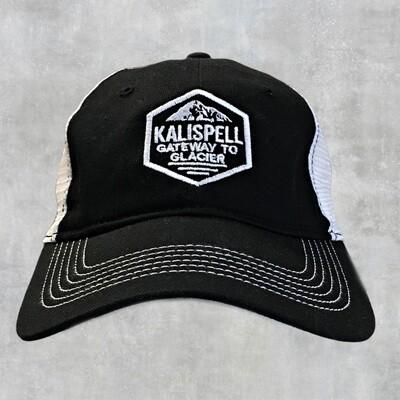 Kalispell Black/White Hat