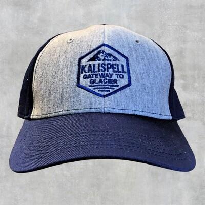 Kalispell Grey/Navy Cap