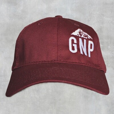 GNP Maroon Cap w/ Montana on the side