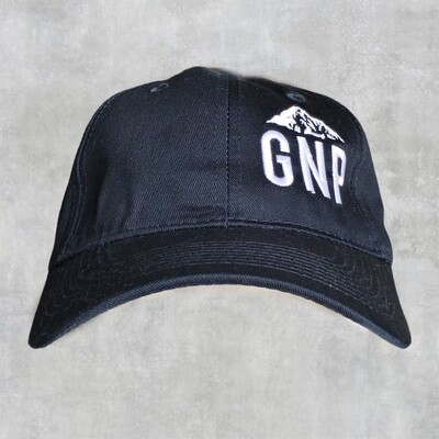 GNP Navy Cap w/ White Montana on the side
