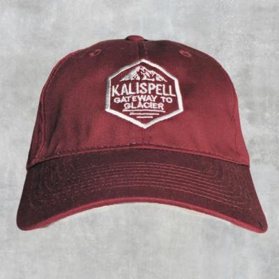 Kalispell Maroon Cap w/ Montana on side