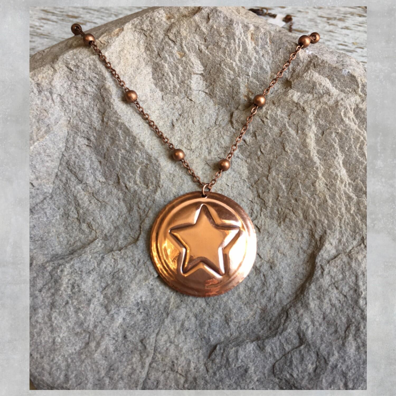 26-4-1 Copper Circle w/ Star $25