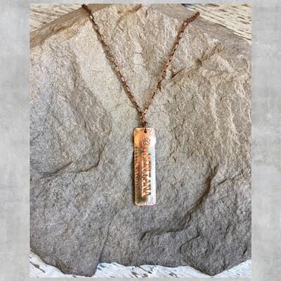 26-3-4 Copper Montana w/ Circle Bear Paw $28