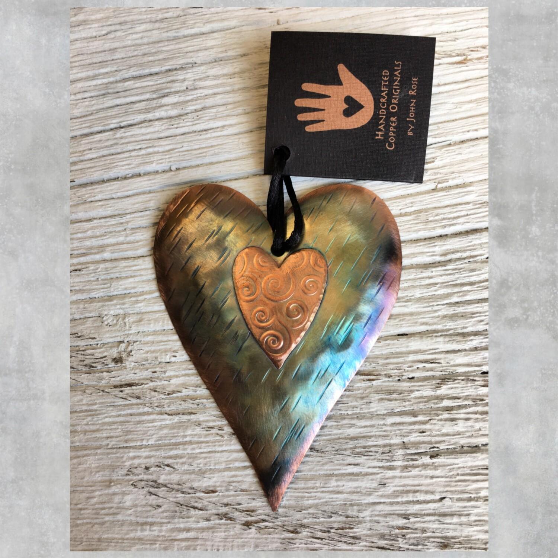 26-16-16 Copper Heart w/ Heart and Swirls $18.50