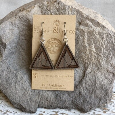 25-18 Wood Earrings $28