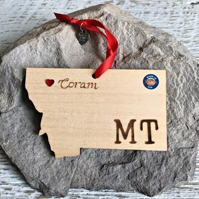 40-20 Coram MT Ornament