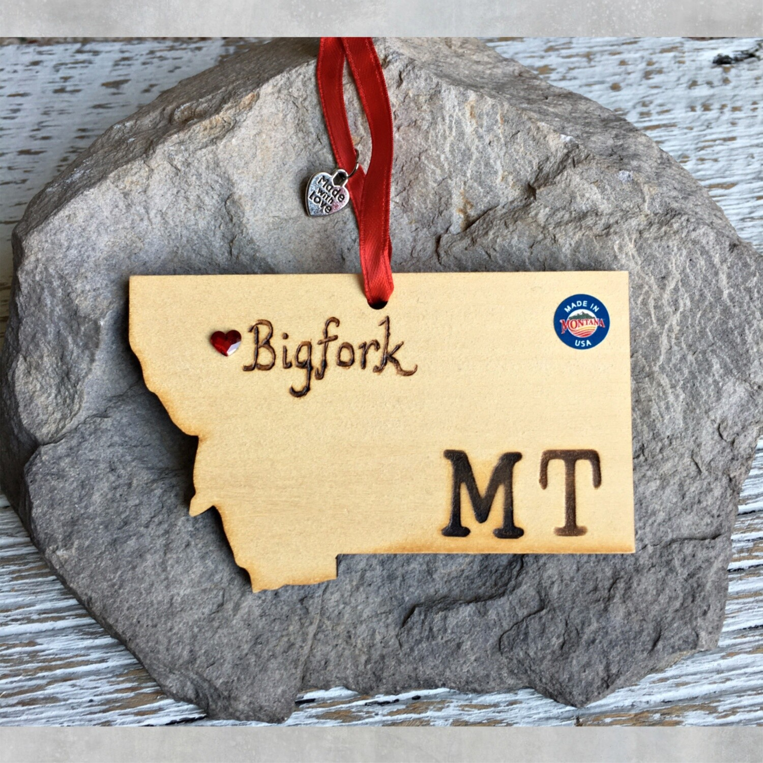40-20 Bigfork MT Ornament
