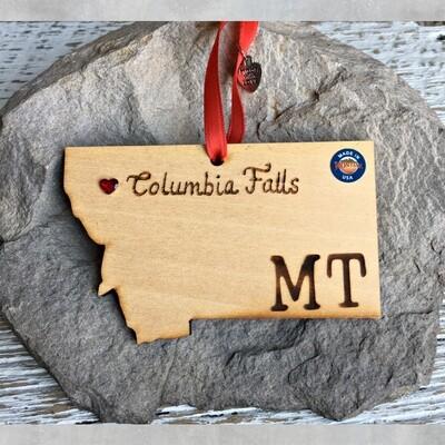 40-20 Columbia Falls MT Ornament