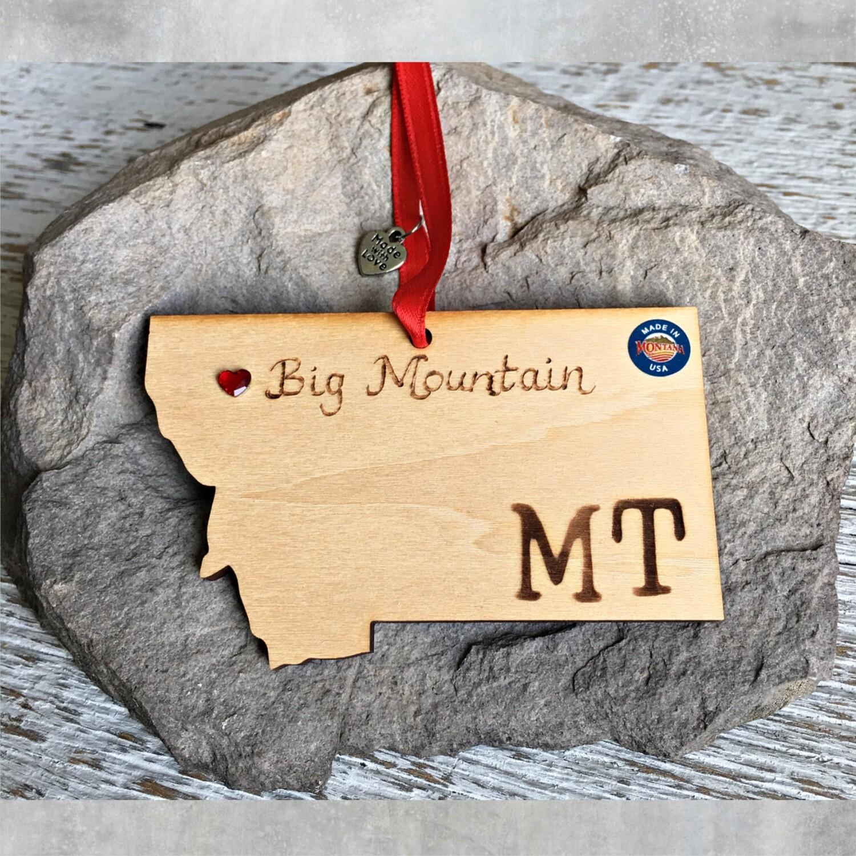 40-20 Big Mountain MT Ornament