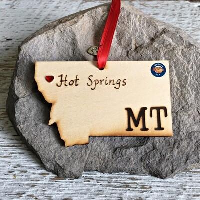 40-20 Hot Springs MT Ornament