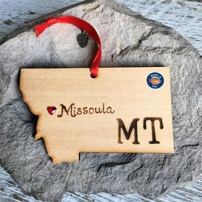 40-20 Missoula MT Ornament