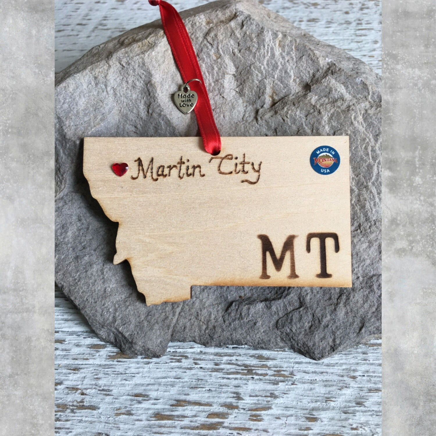 40-20 Martin City MT Ornament