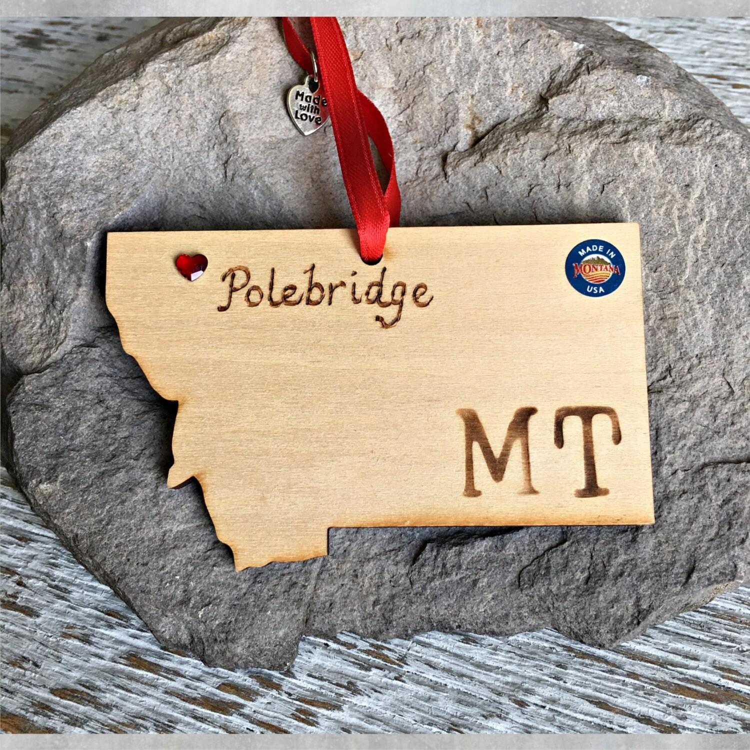 40-20 Polebridge MT Ornament