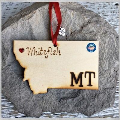 40-20 Whitefish MT Ornament