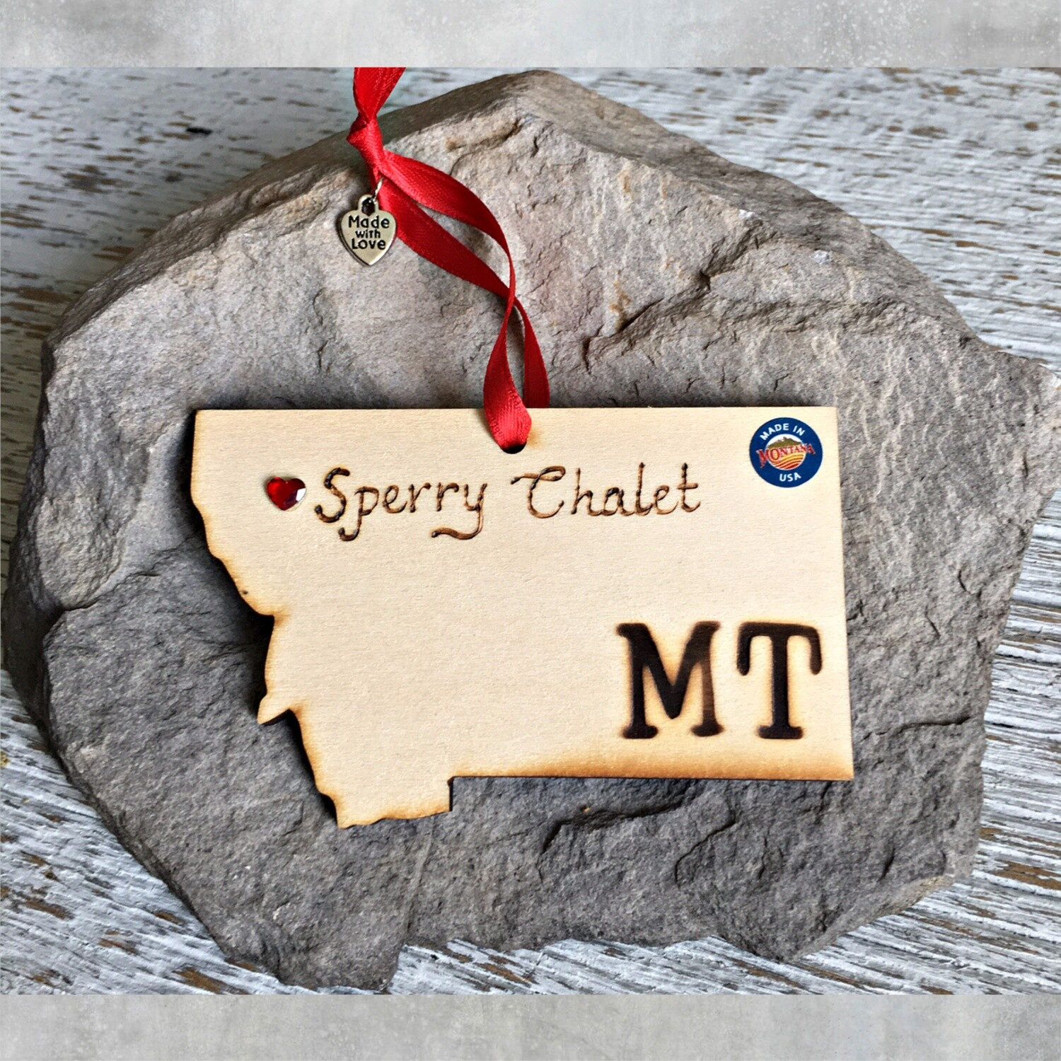 40-20 Sperry Chalet MT Ornament