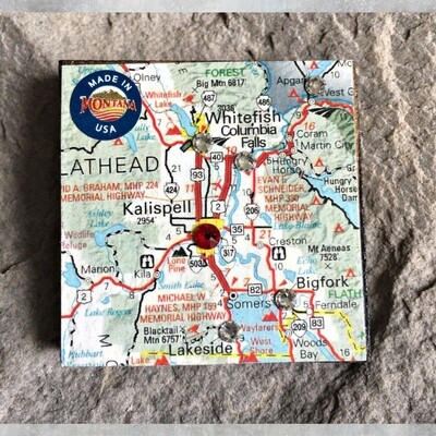 Map Magnet 40-1-1