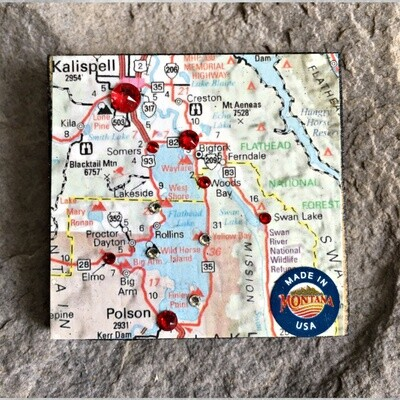 Map Magnet 40-1-3