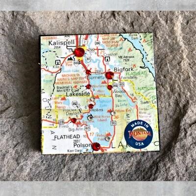 Map Magnet 40-1-4