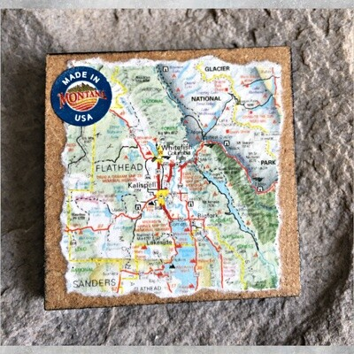 Map Magnet 40-1-5