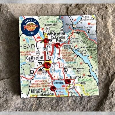 Map Magnet 40-1-7