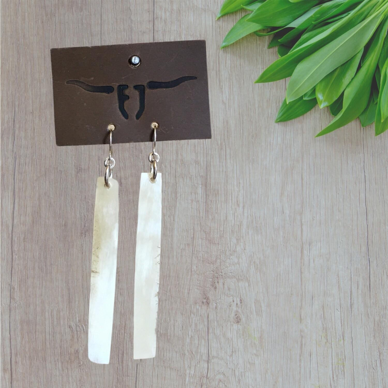 Longhorn Earrings 62-5-12