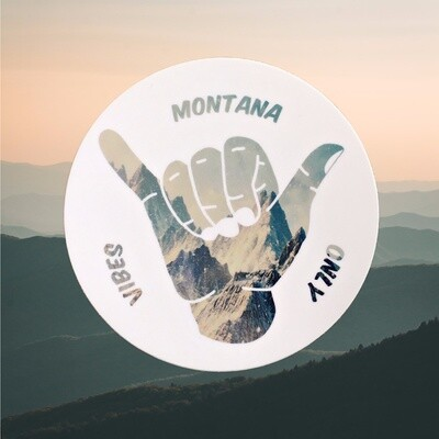 Montana Vibes Decal