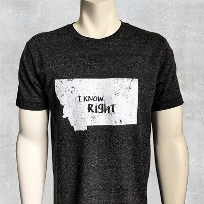 I Know Right Unisex Crew Tee