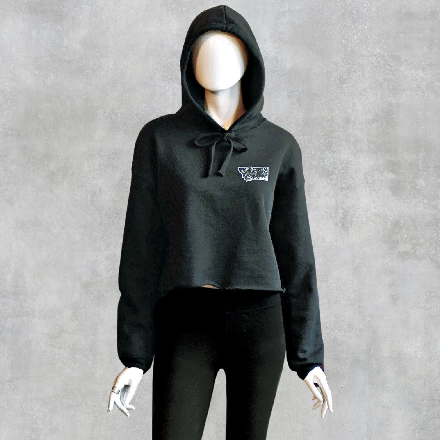 Bad Ass Women's Cropped Hoodie