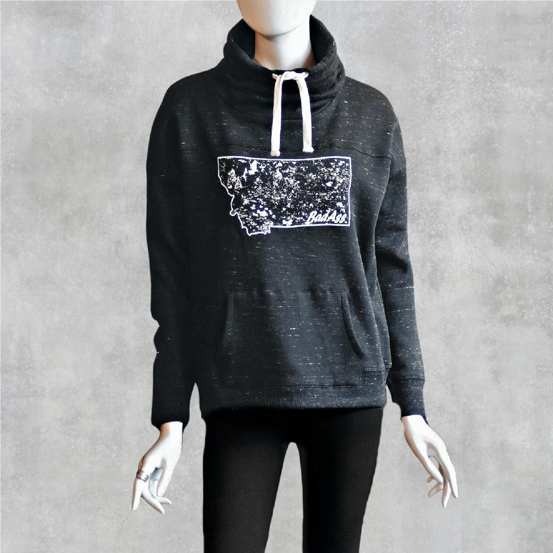 BadAss Women's Cowl Neck Sweatshirt