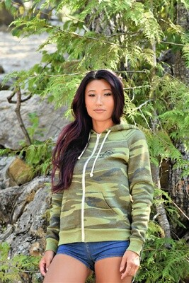 Kalispell Zip-Up Ladies Hoodies