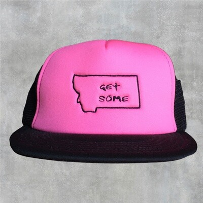 Get Some Hot Pink Flat Bill Hat
