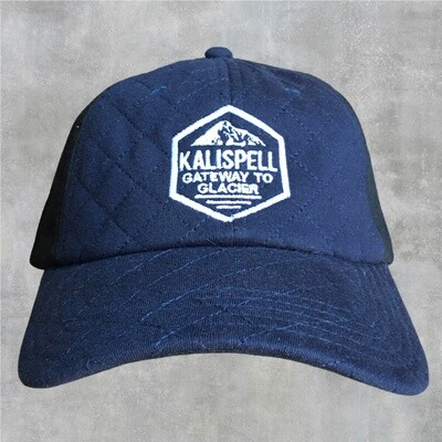 Kalispell Snap Back Hat w/ Quilted Front