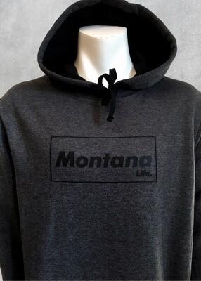 Montana Life Brick Unisex Charcoal Hoodie