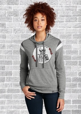 Life Begins After Coffee Retro Varsity Hoodie