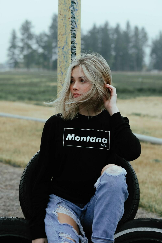Montana Life Brick Unisex Long Sleeve