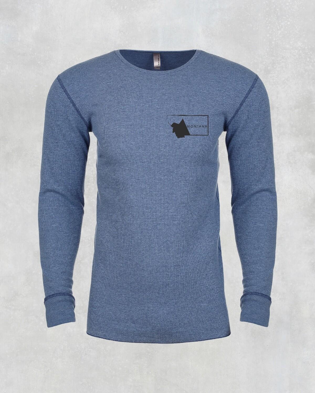 Montana Blue Long Sleeve Unisex Thermal