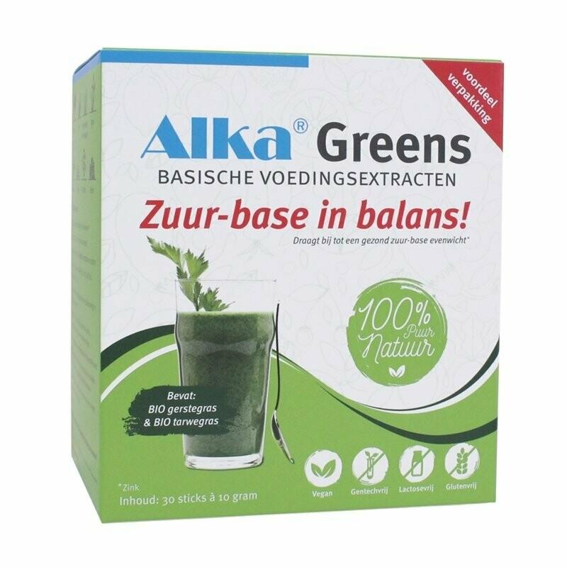 1 x Alka Green Caps