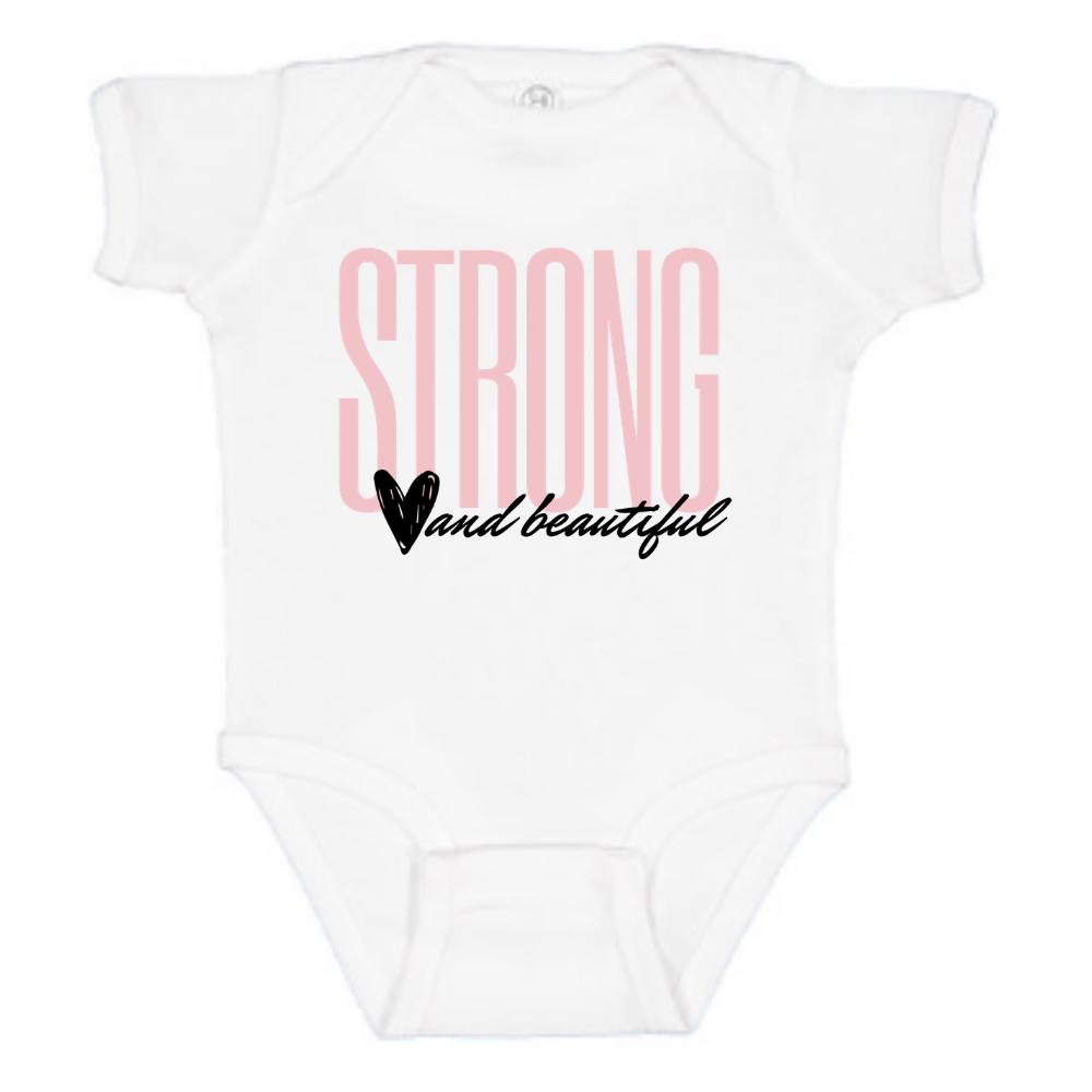 Strong + Beautiful - Onesie