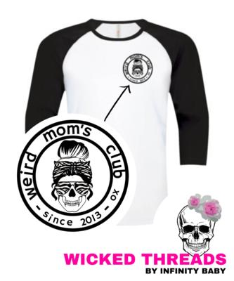 Weird Mom's Club - Baseball Tee