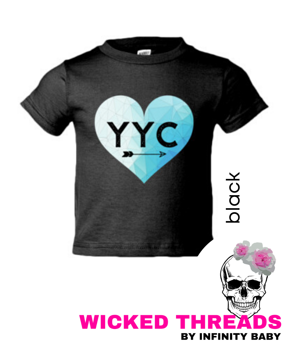 YYC LOVE - Toddler T-Shirt