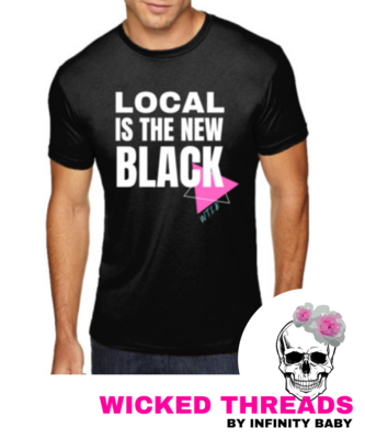 Local Is The New Black - Unisex Adult Tee
