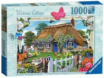 Wisteria Cottage, 1000pc