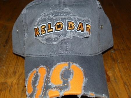 Kelobar Schildkappe orange/grau