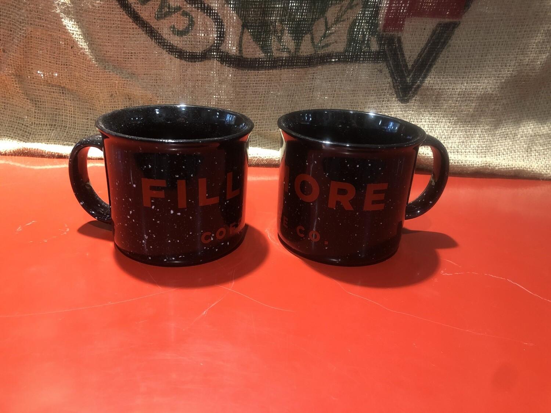 16oz Black/Red Fillmore Mug